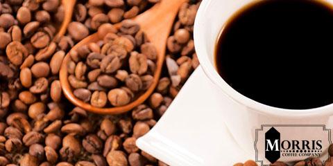 قهوه با پارچه