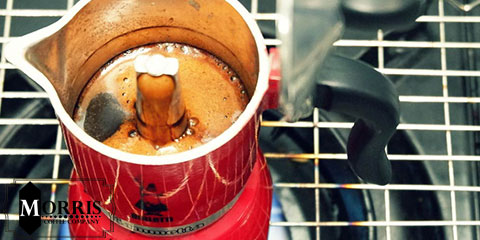 دمآوری قهوه بدون فیلتر