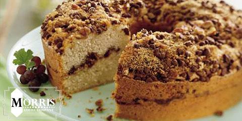 کیک قهوه استروسل