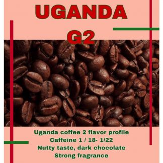 قهوه اسپرسو اوگاندا uganda G2